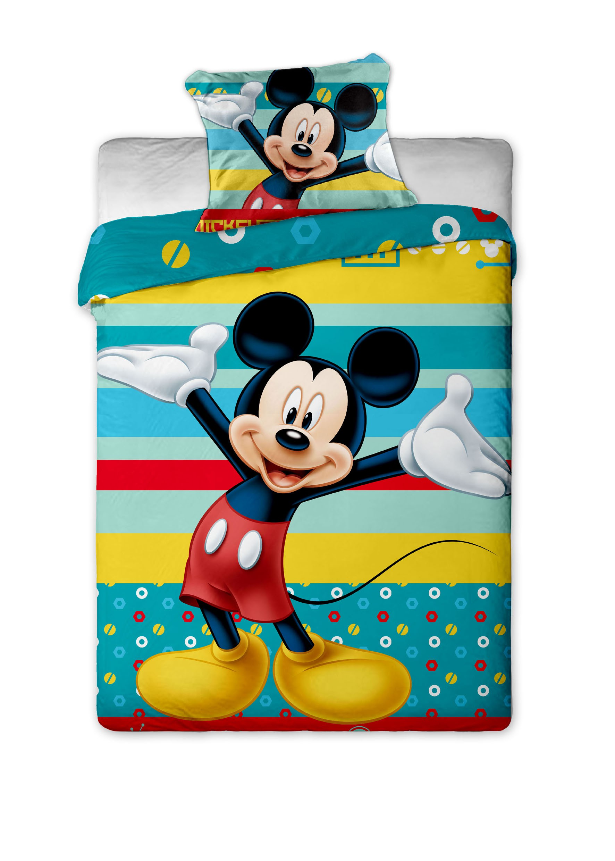 Dětské bavlněné povlečení Disney Mickey tyrkys