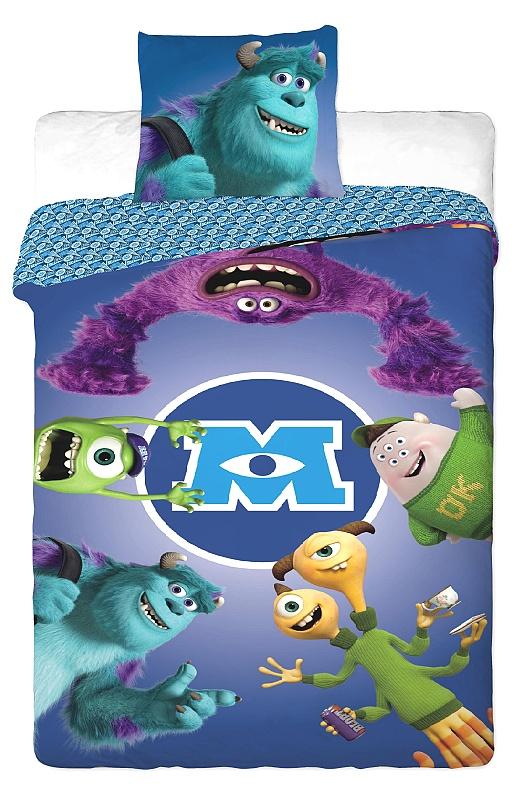 Dětské bavlněné povlečení Disney - Monster University
