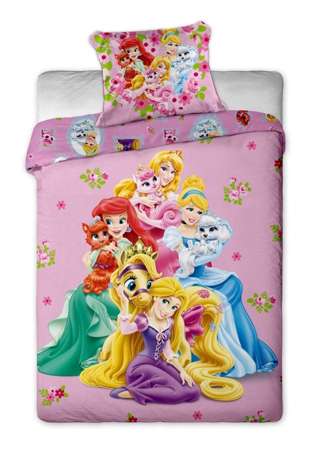 Dětské bavlněné povlečení Disney Princezny 2014