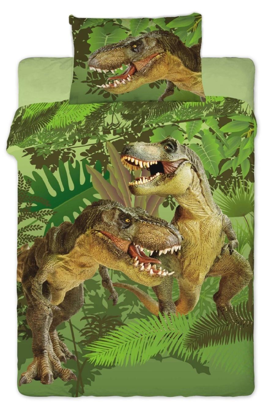 Dětské bavlněné povlečení fototisk Dinosaur 2016