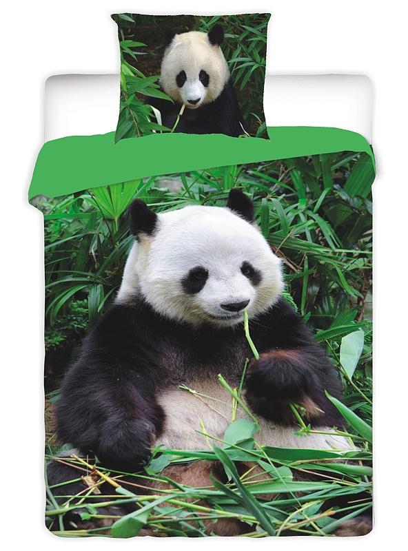 Dětské bavlněné povlečení fototisk Panda