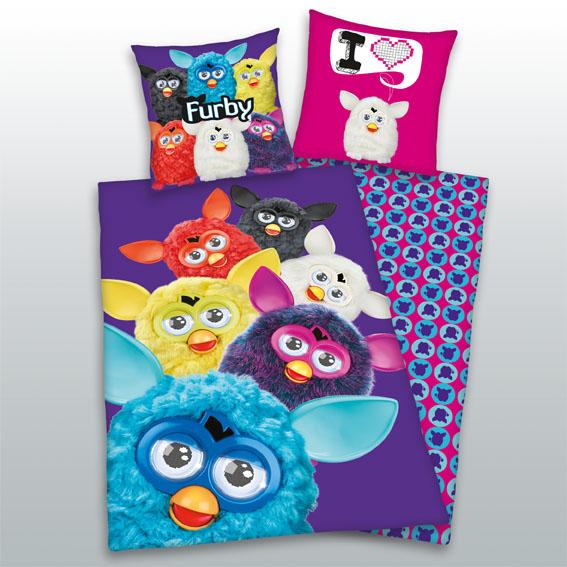 Dětské bavlněné povlečení - Furby