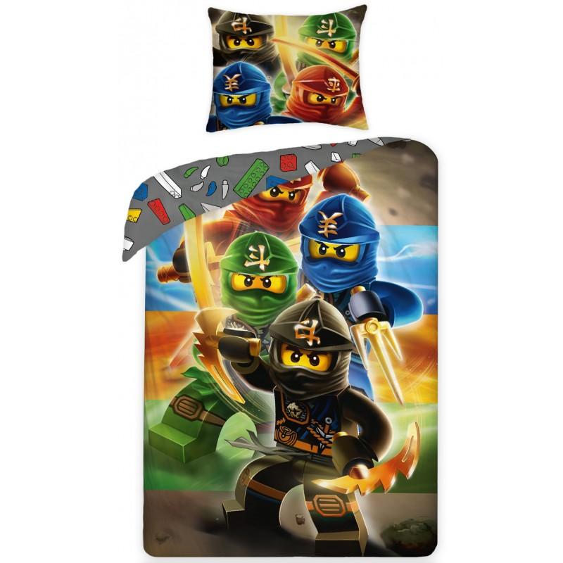Dětské bavlněné povlečení Halantex Lego 0644