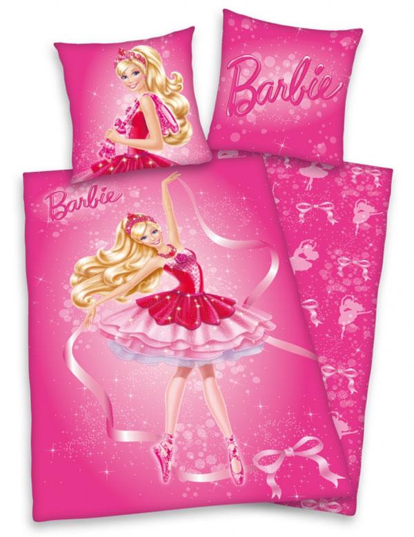 Dětské bavlněné povlečení Herding Barbie baletka
