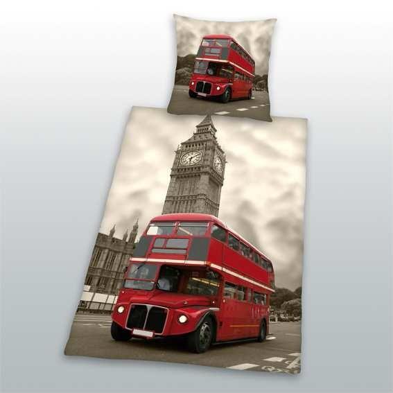 Dětské bavlněné povlečení Herding London Bus
