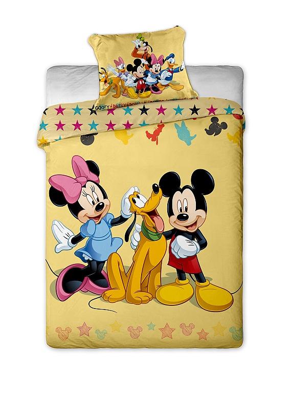 Dětské bavlněné povlečení - Mickey and Friends 2013