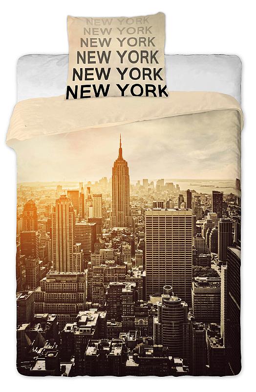 Dětské bavlněné povlečení New York