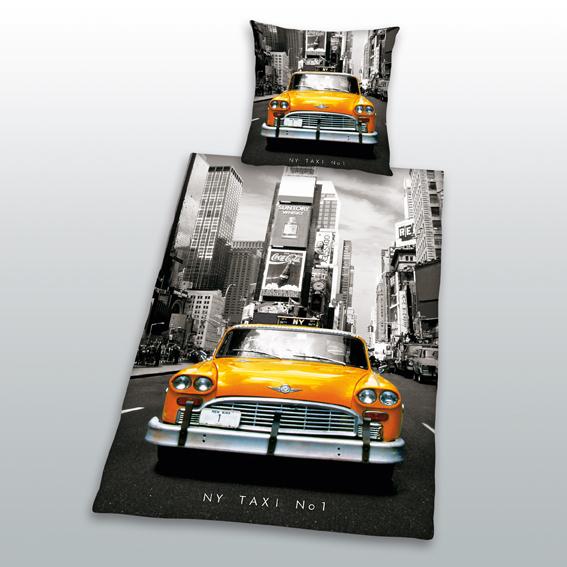 Dětské bavlněné povlečení NY Taxi No 1
