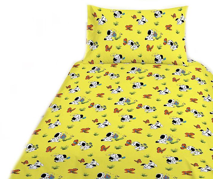 Dětské bavlněné povlečení - Pejsek žlutý