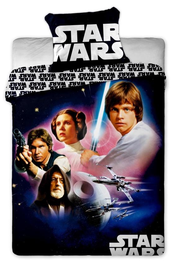 Dětské bavlněné povlečení Star Wars 01