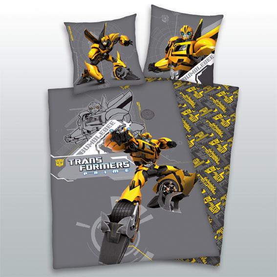 Dětské bavlněné povlečení - Transformers