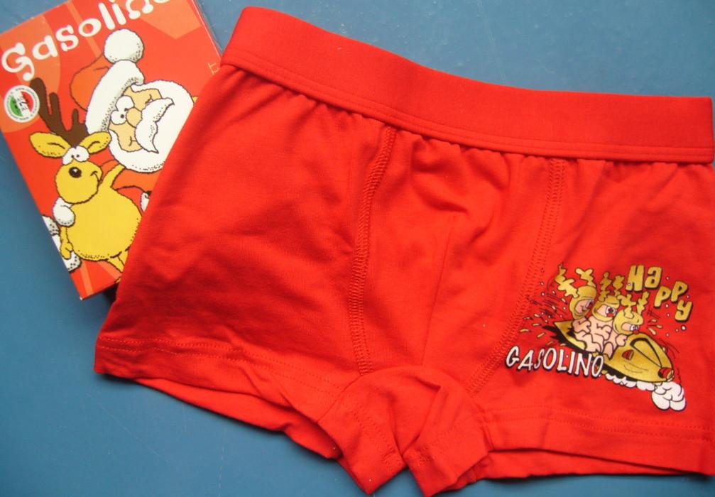 Dětské chlapecké boxery Gasoline R24- obrázek na nohavici