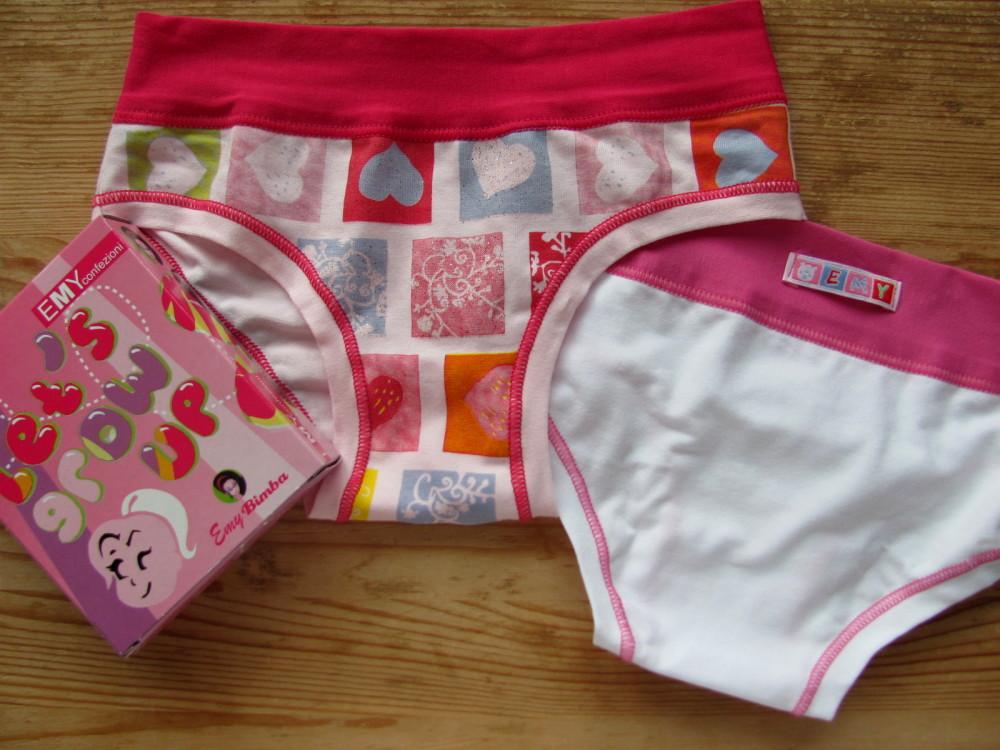 Dětské dívčí kalhotky Emy Bimba B/462