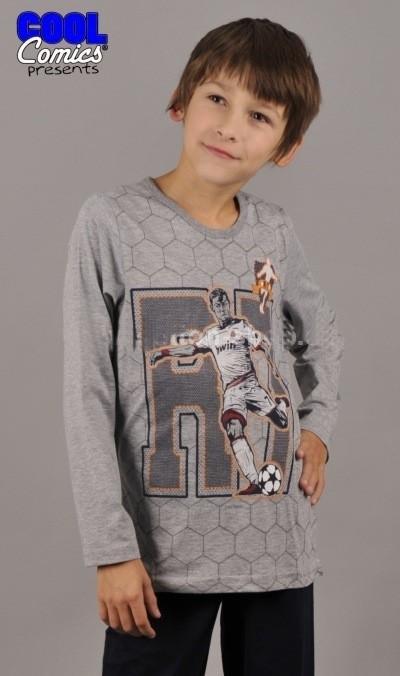 Dětské dlouhé pyžamo Vienetta Secret Hráč Fotbalu