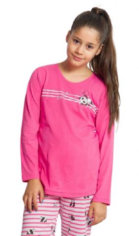Dětské dlouhé pyžamo Vienetta Secret Malé pandy