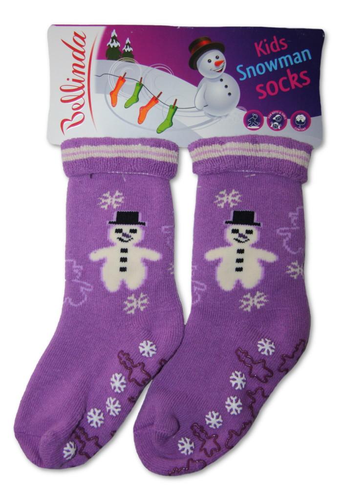 Dětské froté ponožky Bellinda 495716 s protiskluzem - VÝPRODEJ