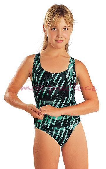 Dětské jednodílné sportovní plavky Litex 97756