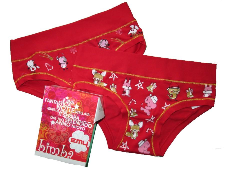 Dětské kalhotky Emy Bimba 878 Vánoční