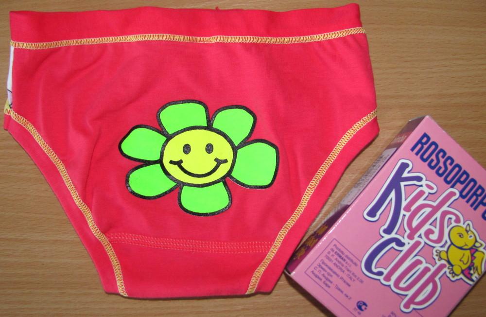 Dětské kalhotky Rossoporpora BA036 smile