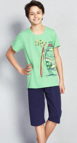 Dětské kapri pyžamo Vienetta Secret Prázdniny