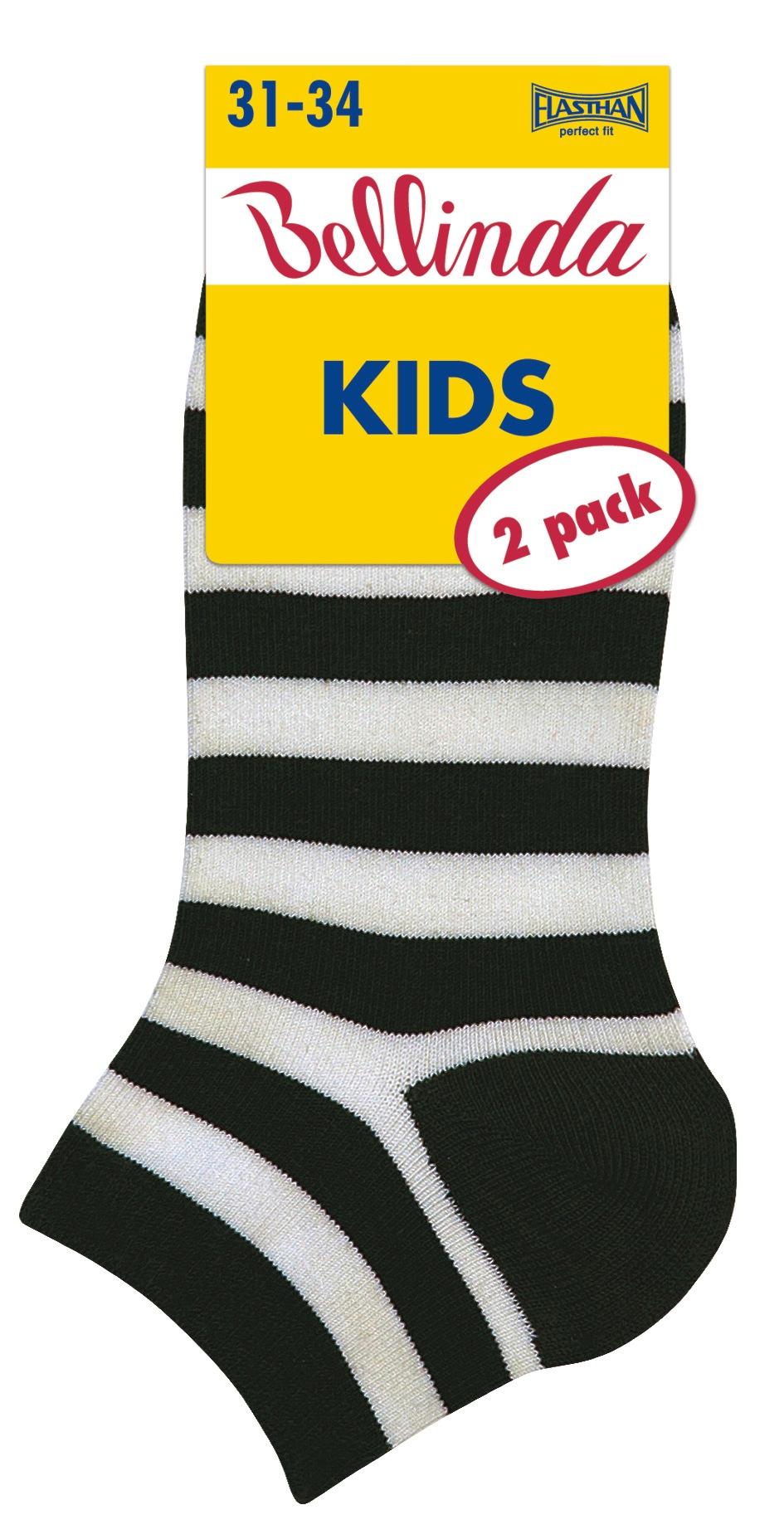 Dětské kotníkové ponožky 2ks Bellinda 486768 KIDS IN SHOE SOCKS - balení 2 páry