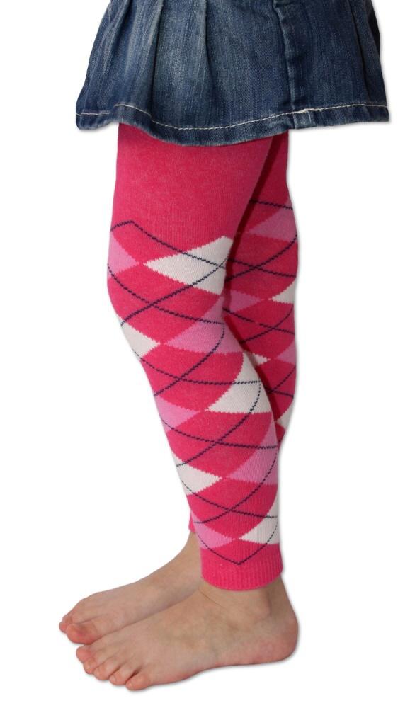 Dětské legíny Design Socks - káro