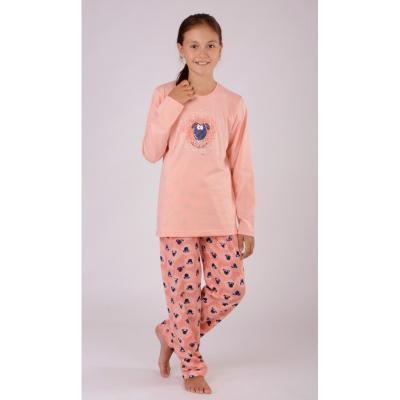 Dětské meruňkové pyžamo Vienetta Secret Malá ovce