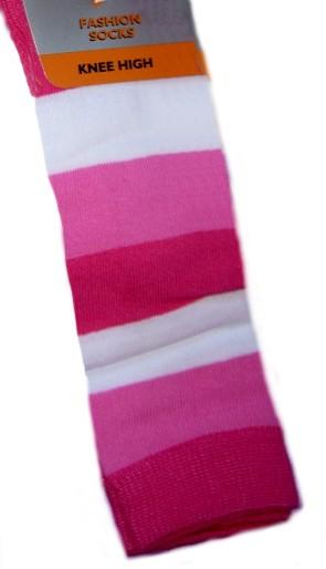 Dětské podkolenky Design Socks proužek