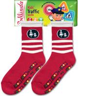 Dětské ponožky Bellinda 495704 KIDS TRAFFIC SOCKS - protiskluzová úprava