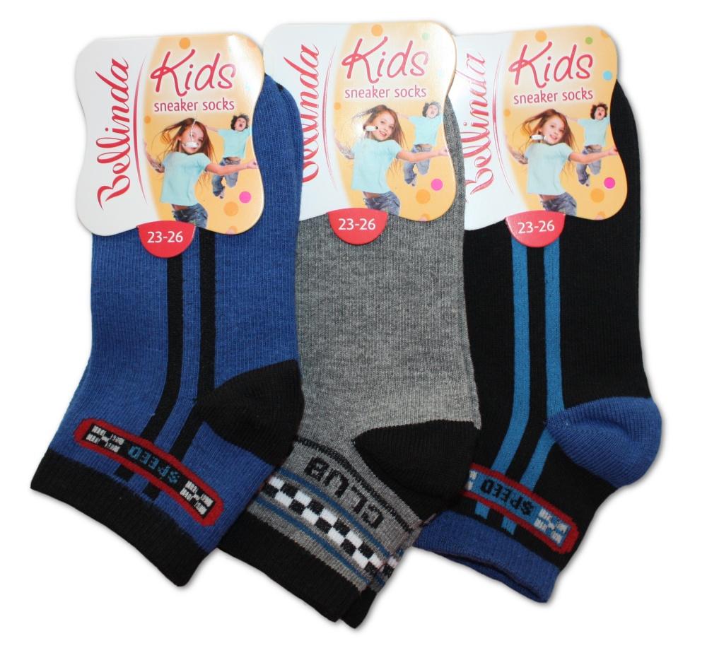 Dětské ponožky Bellinda 495709 Kids sneaker socks - chlapecké