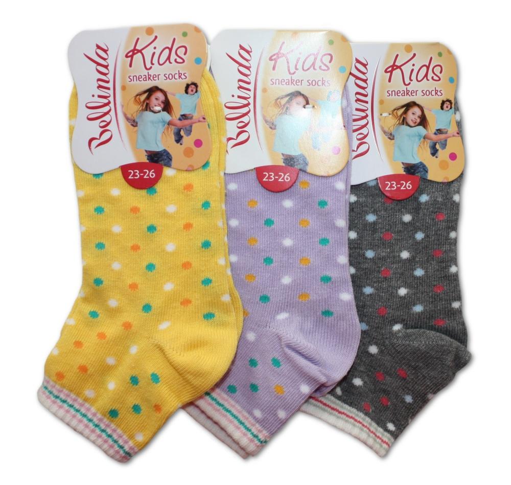 Dětské ponožky Bellinda 495709 Kids sneaker socks - dívčí
