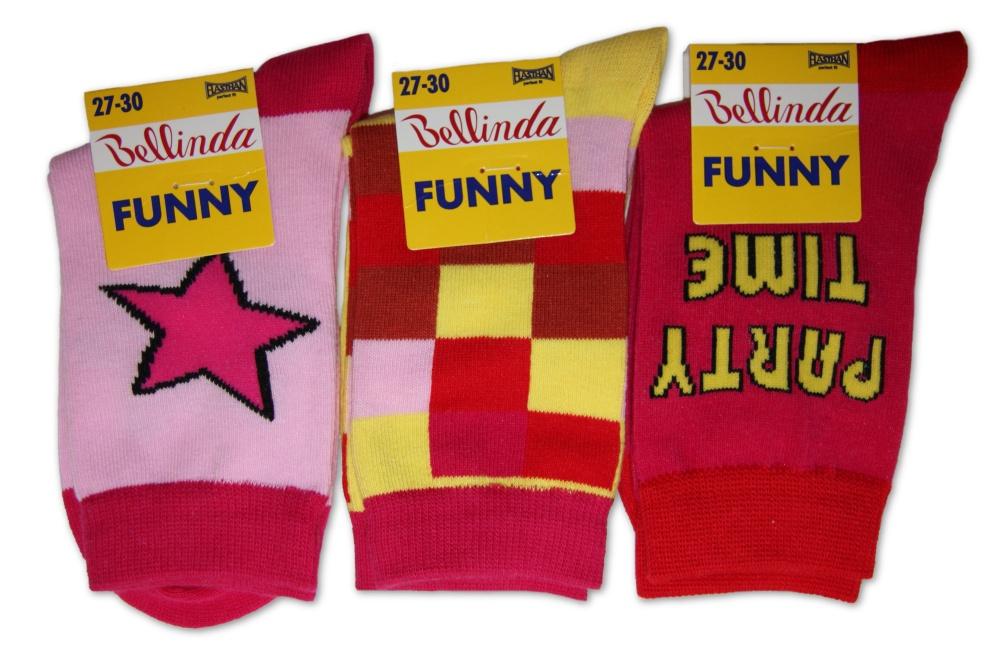 Dětské ponožky Bellinda 496758 KIDS SOCKS