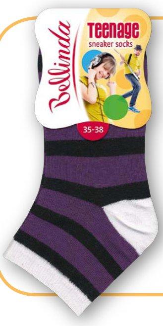 Dětské ponožky Bellinda BE495712 TEENAGE Sneaker Socks