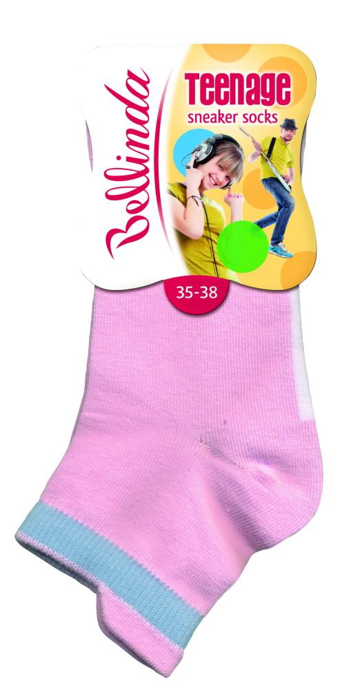 Dětské ponožky Bellinda BE495712 TEENAGE Sneaker Socks - VÝPRODEJ
