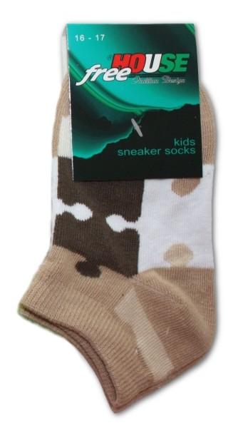 Dětské ponožky Novia 127N nižší Puzzle