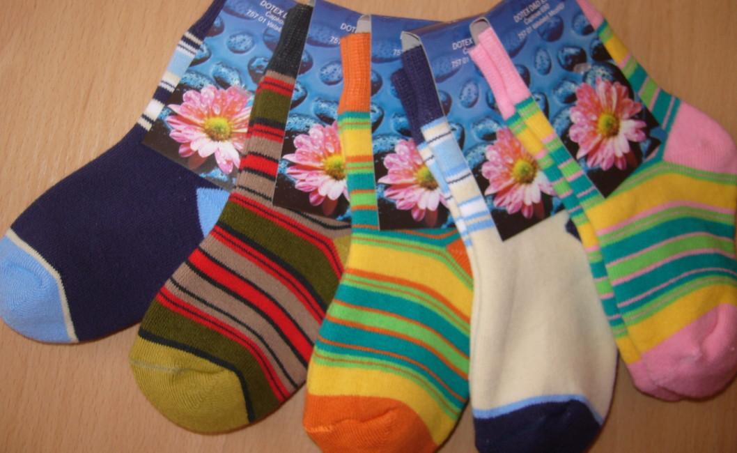 Dětské ponožky Novia - froté proužek