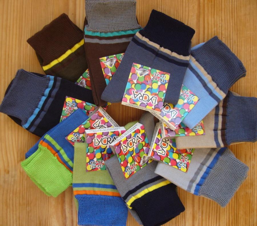 Dětské ponožky Novia - lentilky chlapecké 16-23