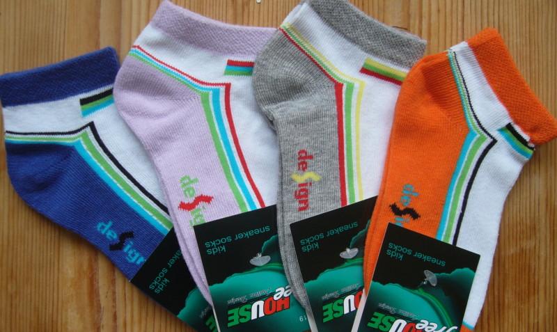 Dětské ponožky Novia - nižší proužek design - 3 páry v balení