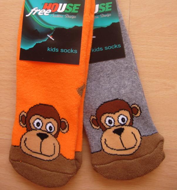 Dětské ponožky Novia - opičák