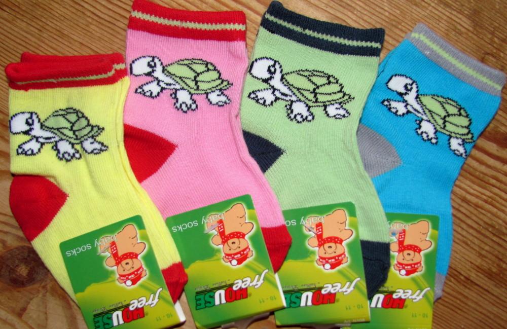 Dětské ponožky Novia Želva 56N