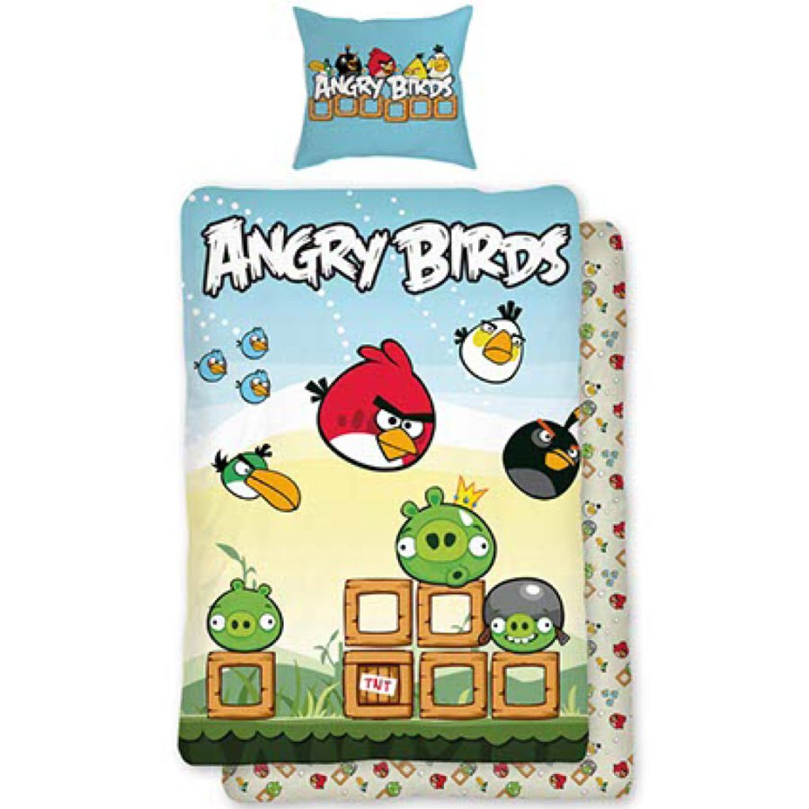 Dětské povlečení bavlna Angry birds Box