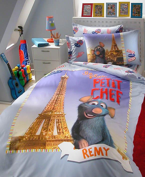 Dětské povlečení Disney - bavlna TAC - Ratatouille