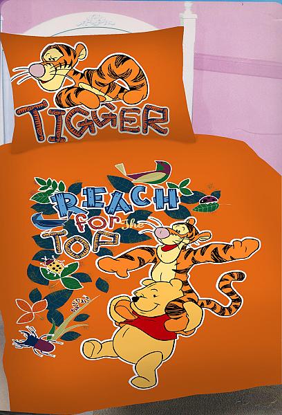 Dětské povlečení Disney - Medvídek Pú a tygr