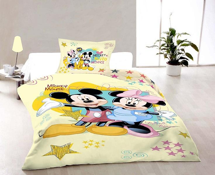 Dětské povlečení Disney - Mickey and Minnie