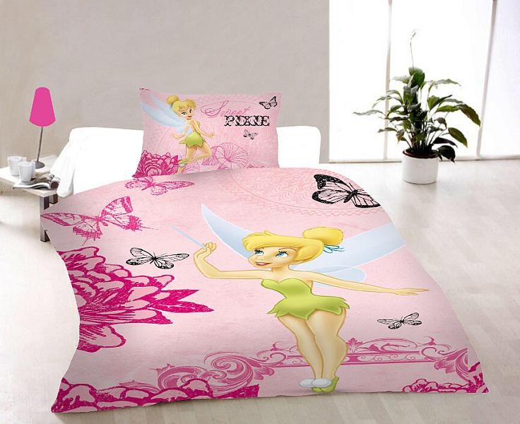 Dětské povlečení Disney - Pixie pink