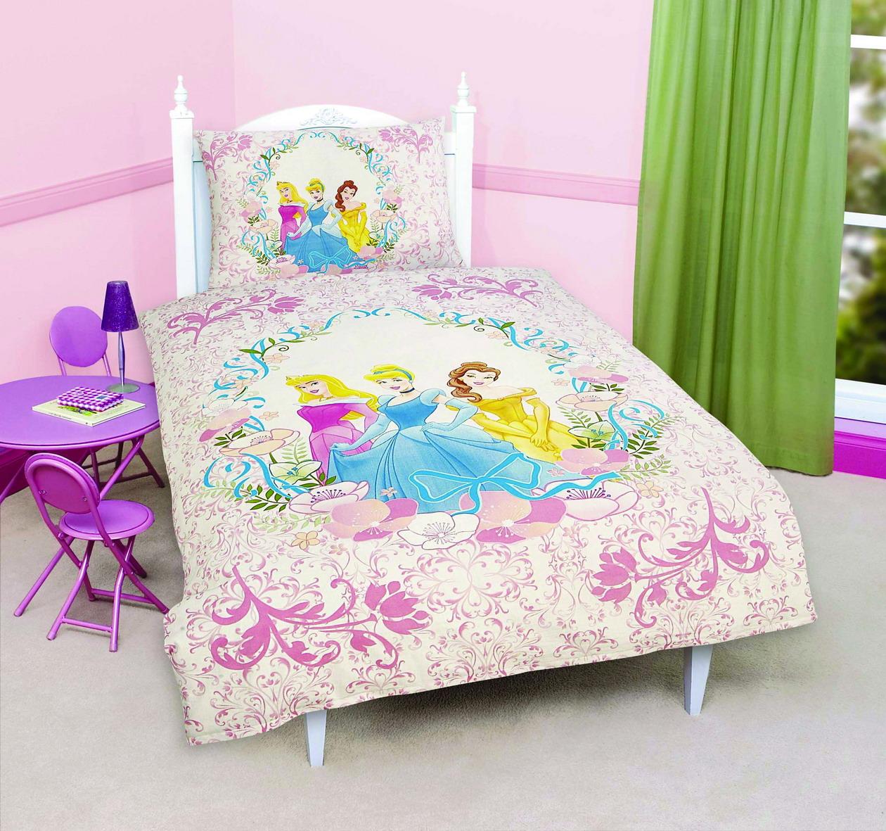 Dětské povlečení Disney - Princess III