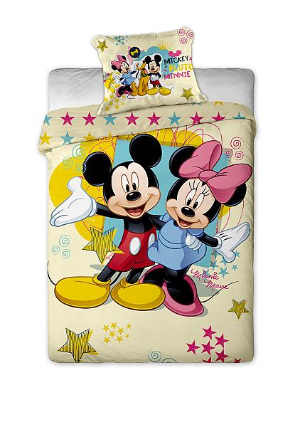 Dětské povlečení mikrovlákno Disney - Mickey a Minnie
