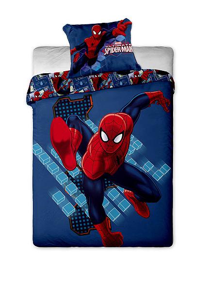 Dětské povlečení mikrovlákno Disney Spiderman blue 2013