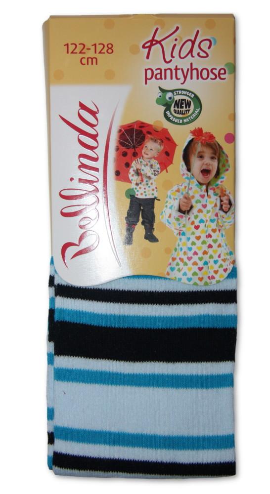 Dětské punčocháčky Bellinda 496667 proužek modrá - VÝPRODEJ
