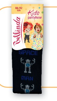 Dětské punčocháčky Bellinda 496667 Robot